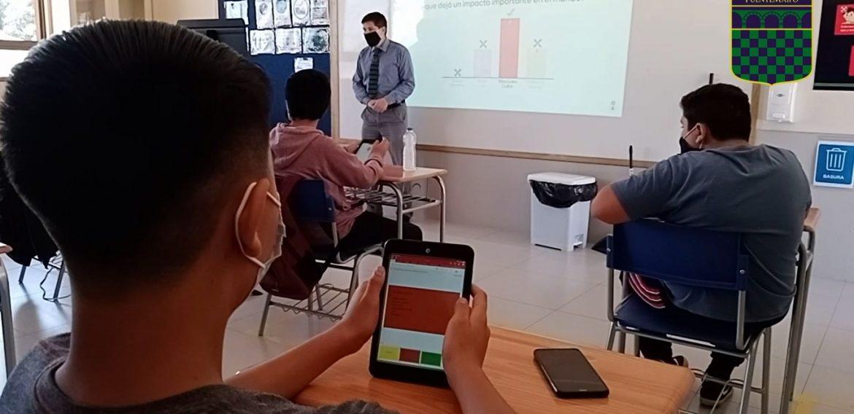 (VIDEO) El emocionante reencuentro de estudiantes y las aulas de fundación nocedal